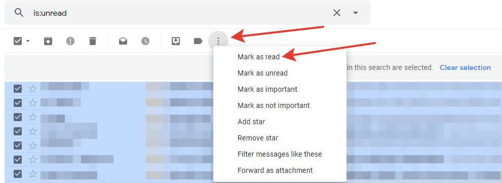 Gmail - mark-as-read option